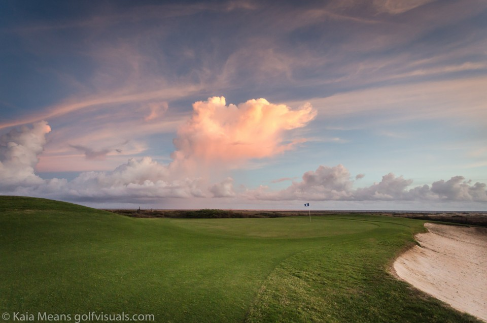 Big sky golf photography